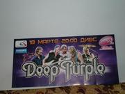 продам автографы музыкантов Deep Purple