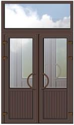 Двери металлопластиковые алюминиевые входные