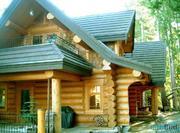 Сруб, дикий сруб, деревянные дома