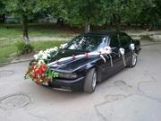 Авто на свадьбу BMW 740i