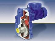 Плоский цилиндрический мотор-редуктор от представителя