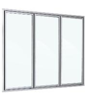 Двери стеклянные,  энергосберегающие