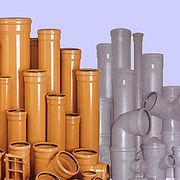 Трубы ПВХ и фитинги для наружной канализации ф110-500 Винница