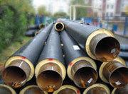 Труба сталева попередньо теплоізольована
