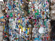 Покупаем отходы тюкованной бутылочки ПЭНД/ПП