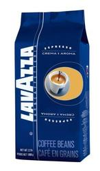 Зерновой кофе  Lavazza Crema e Aroma  (синяя) .