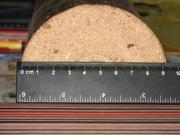Топливные, брикеты  дубовые,  диаметр 90 мм