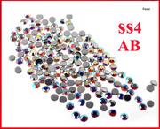 Стразы для маникюра и украшений,  размер SS4 1.6мм,  стиль АВ хамелеон