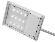 Уличный светильник на солнечных батареях,  12 мощных светодиодов