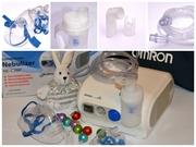 ингалятор небулайзер для детей  и взрослых Omron ne-c28p