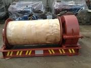 Лебедка маневровая электрическая ЛМ-10 с тросом
