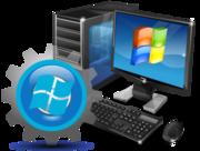 Установка Windows XP,  7,  8,  10 на дому или в офисе.