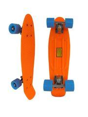 Скейтборд Penny Board оранжевый