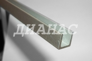 П-образный алюминиевый профиль (швеллер алюминиевый) ПАС