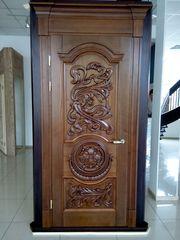 Двери,  лестницы,  мебель и другие изделия из массива дерева
