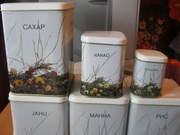 Набор для  сыпучих продуктов новый Таллин