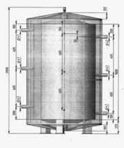 Теплоаккумулятор (Емкость на 1, 5 м.куб)