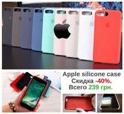 Чехол на Айфон,  Apple Silicone Case іPhone - 5/5s/6/6s/6+/7/7+/8/8+/X