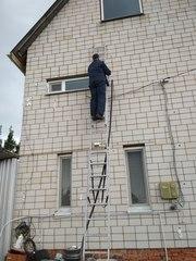 Утепление  домов пеноизолом.(Жидкий пенопласт)