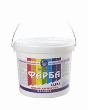 Краска фасадная водно-дисперсионная акриловая от производителя