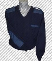 Армейский шерстяной свитер