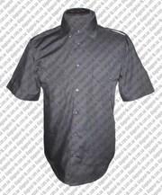 Рубашка форменная комбинированая на длинный рукав